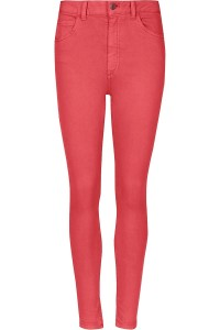 M&S Różowe Jeansy Super Skinny, Tencel,  Regular