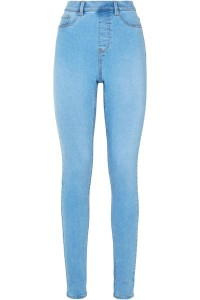 New Look Jegginsy Skinny Jasny Jeans Short