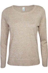 Gap Melanżowy Sweter Cappuccino Petite