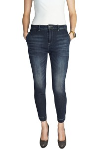 United Colors Of Benetton Jeansy 7/8, Ciemny Jeans