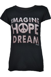 Czarna bluzka, Imagine hope dream V43