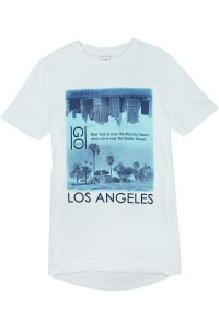 River Island Biały T-Shirt, Los Angeles