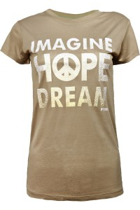 Orzechowa bluzka, Imagine hope dream V51