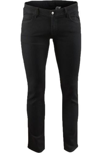 H&M Czarne Spodnie Jeansy