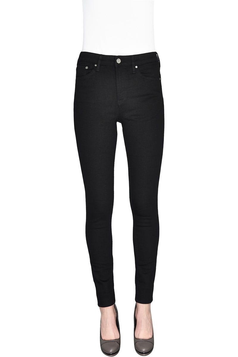 H&M Czarne Jeansy Skinny, Low Waist, Regular